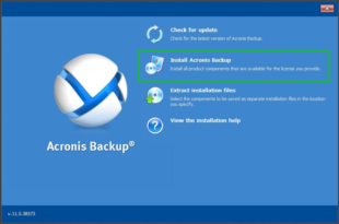 Acronis Backup for PC Download Free