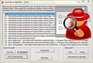 HiJackThis 2.0.5 Beta Download Free