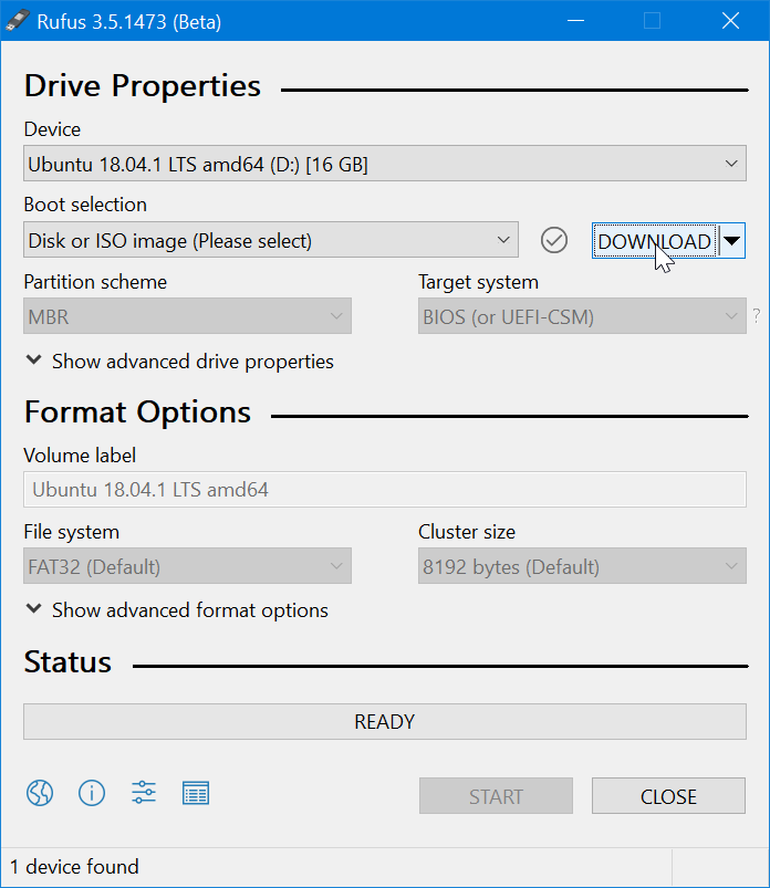 Rufus 2020 Portable Latest Version Free Download