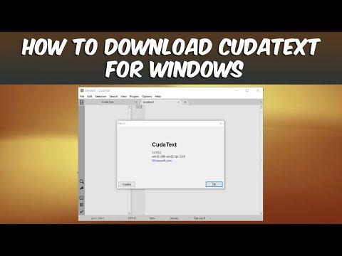 CudaText Free Download