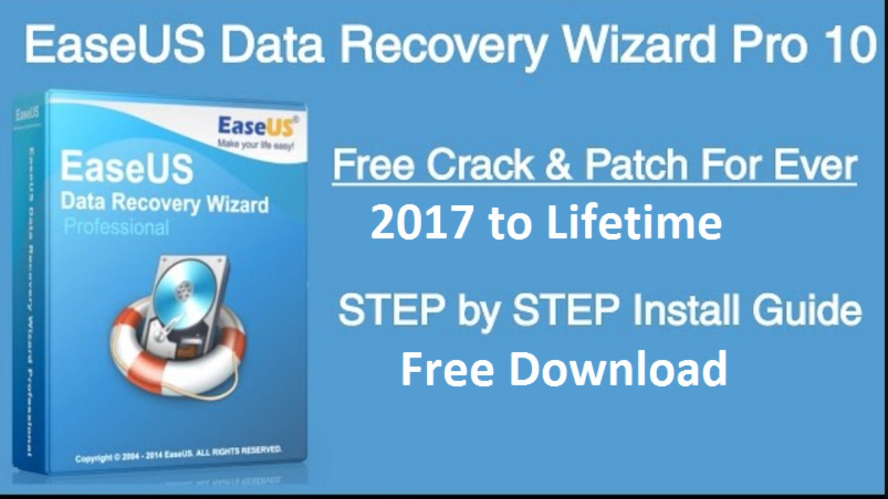 Easeus data Recovery Wizard professional Free