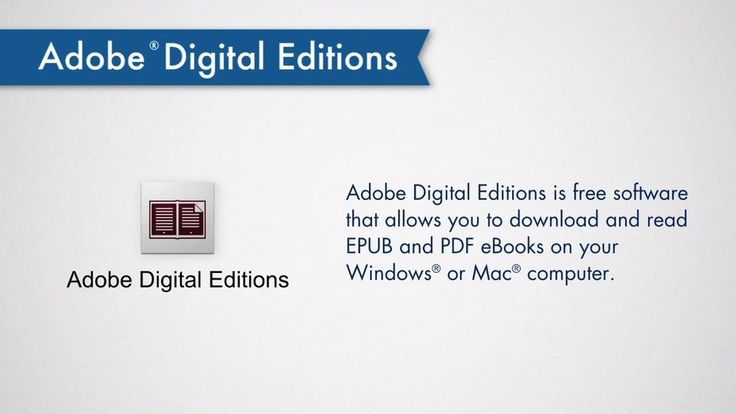 Adobe Digital Editions Download Free Full Version
