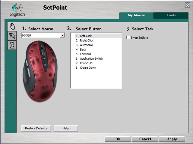 Logitech SetPoint Download Free Full Version