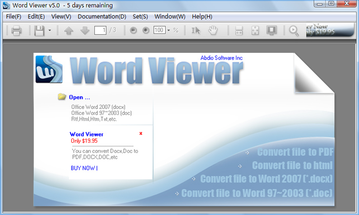 Word Viewer Download Free