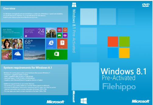 Windows 8.1 Pro March 2018 Edition Download