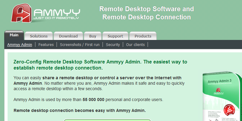 Free Download Ammyy Admin Latest Version