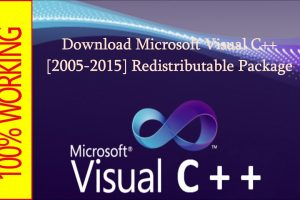 Visual C++ Redistributable Packages 2013 Free Download