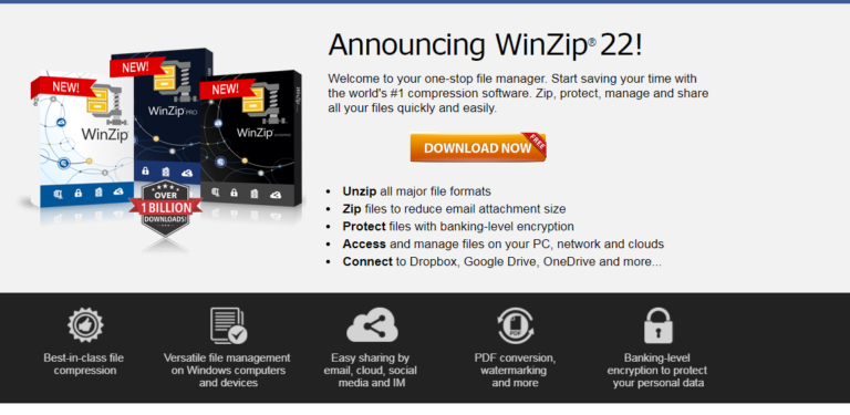 Winzip 2020 For Windows 7/8/10