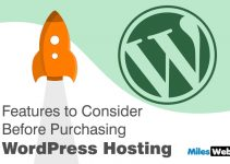 Purchasing WordPress Hosting