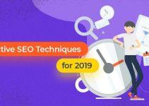 2019 SEO Techniques